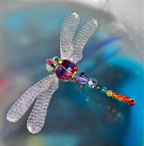 Swarovski Crystal Dragonfly